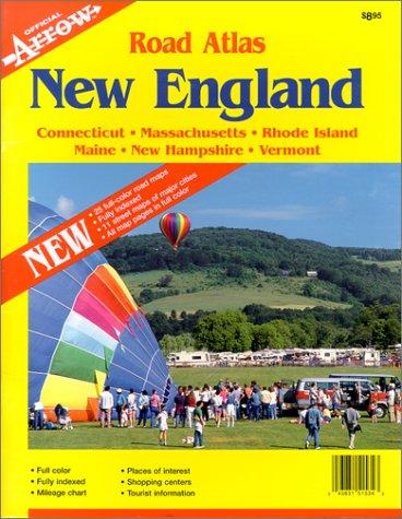 New England Road Atlas (Official Arrow Street Atlas): National Survey, Inc.