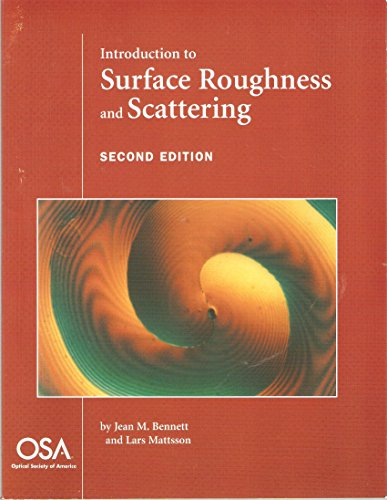 9781557526090: Introduction to Surface Roughness and Scattering