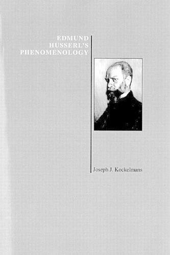 9781557530493: Edmund Husserl's Phenomenology (Purdue University Series in the History of Philosophy)