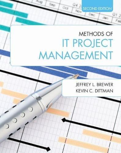 Methods of IT Project Management: Brewer, Jeffrey L./