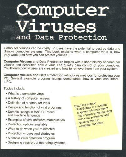 Computer Viruses and Data Protection: Burger, Ralf
