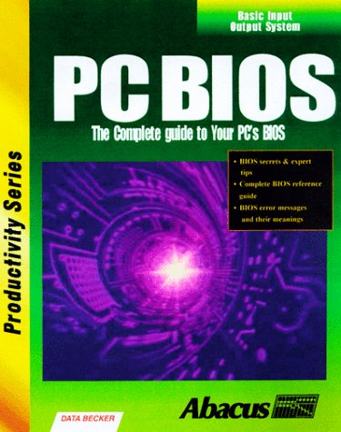 Pc Bios with Cdrom 9781557553423 Book by Abacus Publishing, Becker, Data
