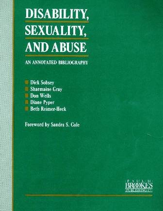9781557660688: Disability, Sexuality, and Abuse: An Annotated Bibliography