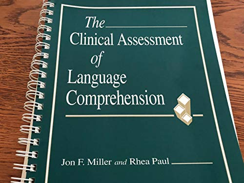 9781557661760: Clinical Assessment of Language Comprehension