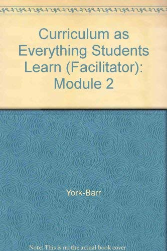 Curriculum As Everything Students Learn in School: York; Robi M.