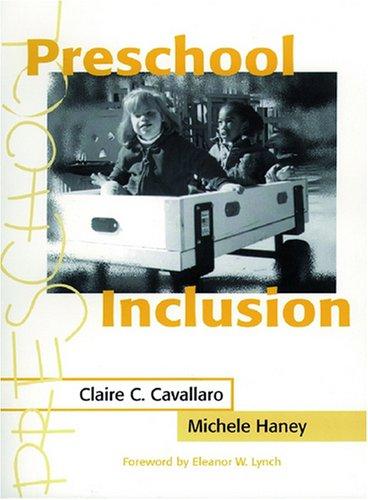 9781557664198: Preschool Inclusion