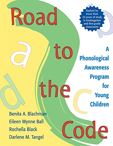 9781557664389: Road to the Code: A Phonological Awareness Program for Young Children