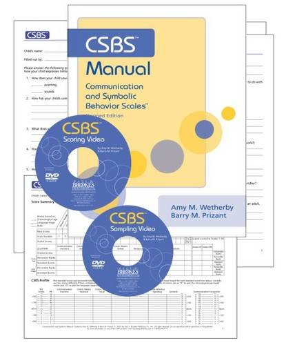 CSBS Test Kit: The Csbs Kit without Toy Kit: Communication and Symbolic Behavior Scales (CSBS) (...