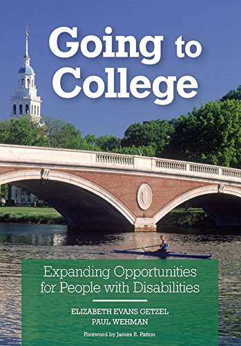 9781557667427: Going To College: Expanding Opportunities For People With Disabilities (v. 1)