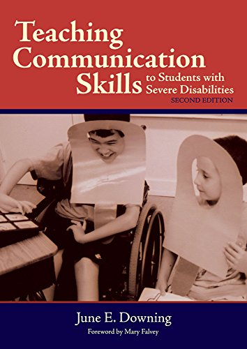 Teaching Communication Skills To Students With Severe: June E., Ph.D.
