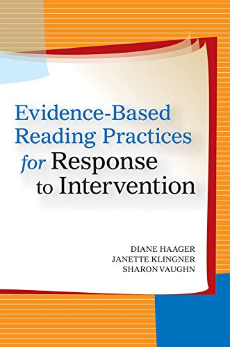 9781557668288: Evidence-Based Reading Practices for Response to Intervention