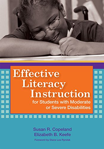 9781557668370: Effective Literacy Instruction for Students with Moderate or Severe Disabilities
