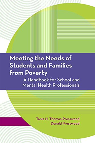 9781557668677: Meeting the Needs of Students and Families from Poverty: A Handbook for School and Mental Health Professionals