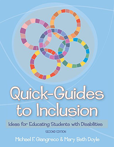 9781557668974: Quick-Guides to Inclusion: Ideas for Educating Students with Disabilities, Second Edition