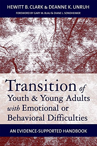 9781557669636: Transition of Youth and Young Adults with Emotional or Behavioral Difficulties: An Evidence-Supported Handbook