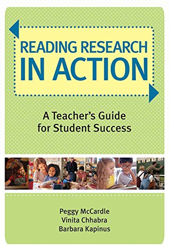 9781557669643: Reading Research in Action: A Teacher's Guide for Student Success