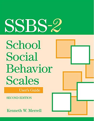 9781557669896: School Social Behavior Scales User's Guide, Second Edition