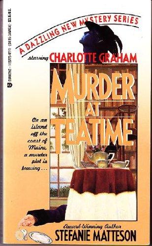9781557734778: Murder at Teatime: Starring Charlotte Graham (Diamond Mystery)
