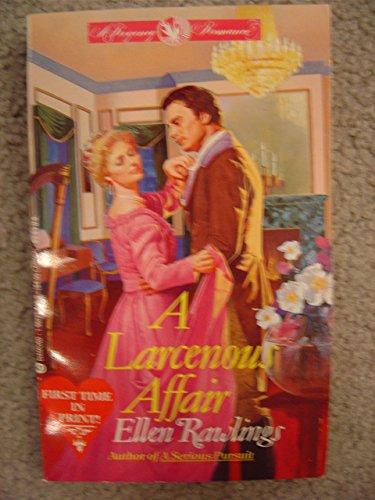 A Larcenous Affair (A Diamond Regency Romance): Rawlings, Ellen