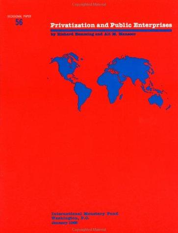 Privatization and Public Enterprises (Paperback): Richard Hemming, International
