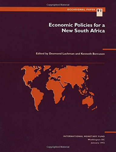 Economic Policies for a New South Africa: Desmond Lachman