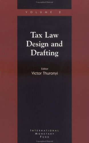 9781557756336: Tax Law Design and Drafting: Vol. 2: v. 2