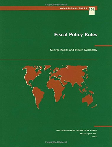 9781557757043: Fiscal Policy Rules: Occasional Paper 162 (International Monetary Fund Occasional Paper)