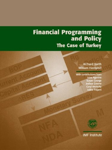 9781557758750: Financial Programming and Policy: The Case of Turkey