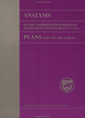 Analysis of 1997 Coordinated Portfolio Investment Survey: Statistics Department
