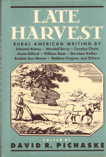 9781557780492: Late Harvest: Rural American Writing