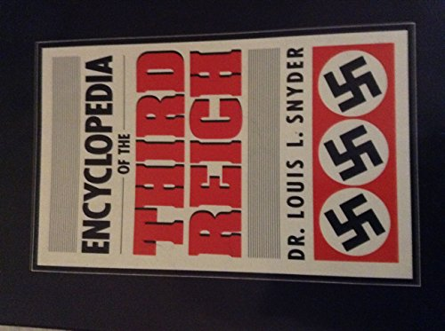 9781557781444: Encyclopedia of the Third Reich