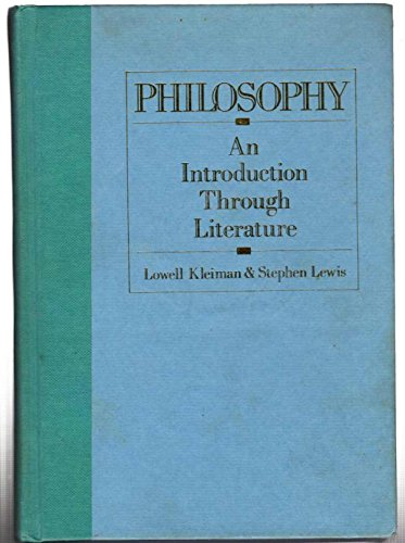 9781557781710: Philosophy: An Introduction Through Literature