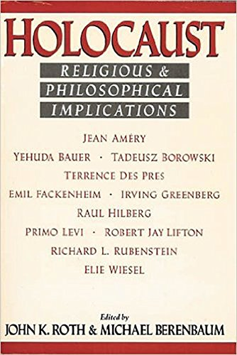 Holocaust : Religious and Philosophical Implications: Roth, John K.;