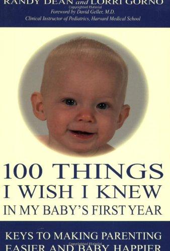 100 Things I Wish I Knew in: Dean, Randy; Gorno,