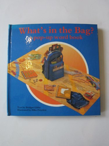 9781557823335: What's in the Bag/Pop-Up Word Book