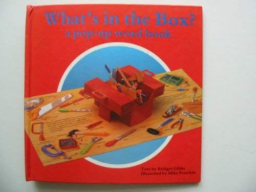 9781557823342: What's in the Box/Pop-Up Word Book