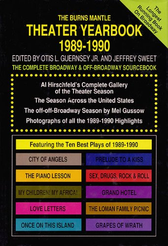 9781557830906: Theater Yearbook 1989-1990: The Complete Broadway and Off-Broadway Sourcebook