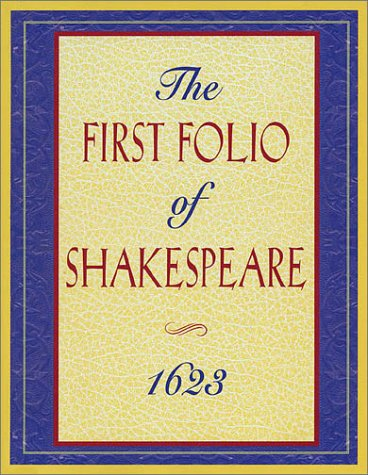 9781557831842: The First Folio of Shakespeare 1623