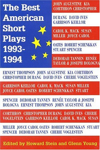 9781557831996: The Best American Short Plays 1993-1994