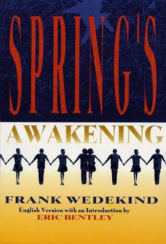 Spring's Awakening (1557832455) by Frank Wedekind