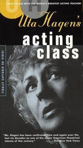 9781557835116: Uta Hagen's Acting Class: Two-Video Set [VHS]