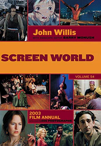 9781557835284: Screen World Volume 54: 2003 (v. 54)
