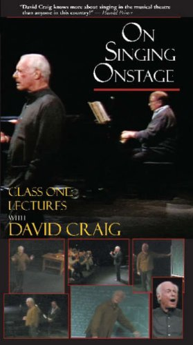 9781557836656: On Singing Onstage Video Library [VHS]