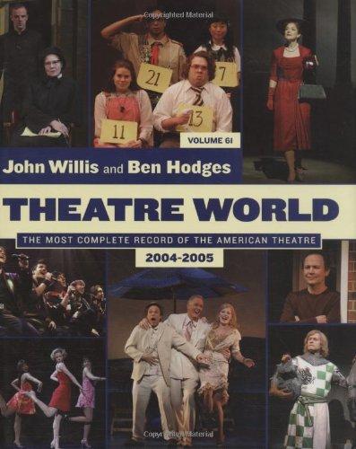 9781557836854: Theatre World: Volume 61 2004-2005 (Theatre World)