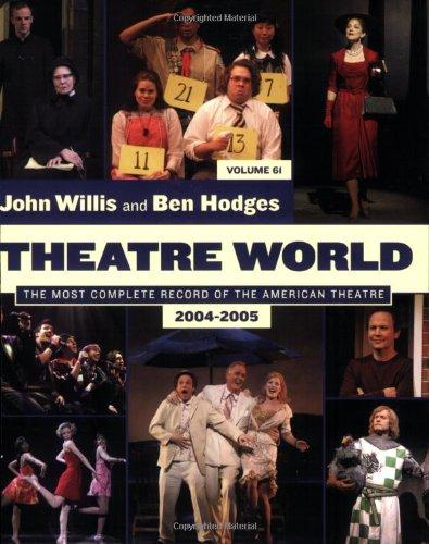 9781557837035: Theatre World: Volume 61, 2004-2005: Softcover