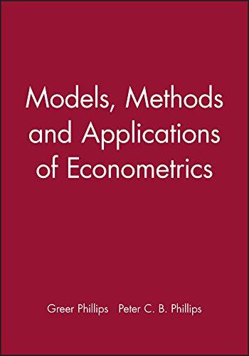 9781557861108: Models, Methods and Applications of Econometrics