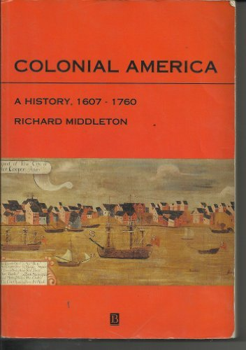 9781557862594: COLONIAL AMERICA:A HISTORY