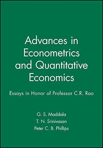 9781557863829: Advances in Econometrics and Quantitative Economics: Essays in Honor of Professor C.R. Rao (Essays in Honor or Professor C.R. Rao)