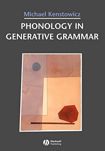9781557864260: Phonology in Generative Grammar (Blackwell Textbooks in Linguistics, No. 7)