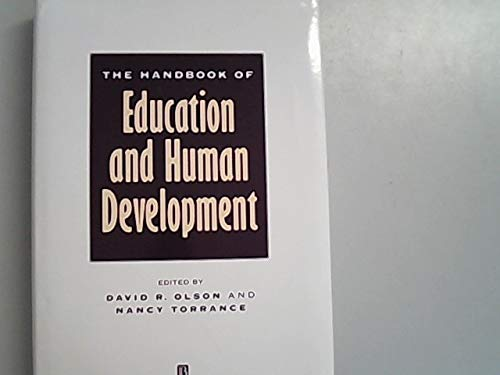 9781557864604: The Handbook of Education and Human Development: New Models of Learning, Teaching and Schooling